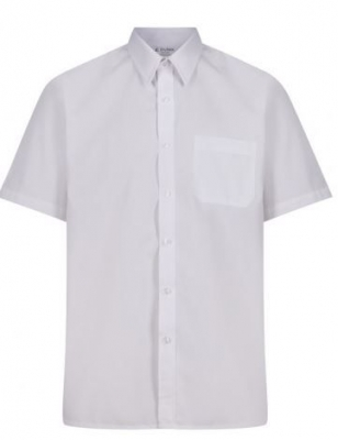 TRUTEX SHORT SLEEVE NON-IRON SHIRT (TWIN PACK)