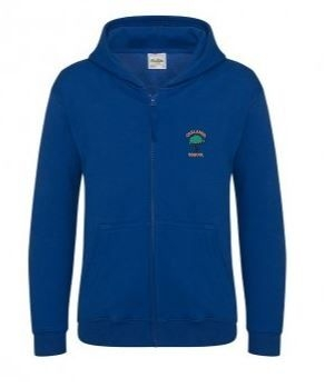 OAKLANDS PRIMARY ZIPPPED HOODIE