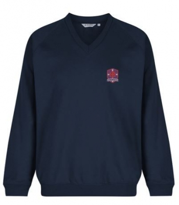 OUR HOLY REDEEMER V-NECK SWEATSHIRT