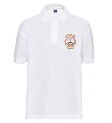 OUR LADY AND ST PATRICKS POLOSHIRT