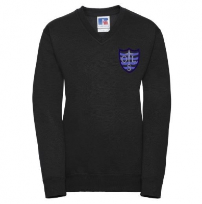 OUR LADY RC PRIMARY V-NECK SWEATSHIRT