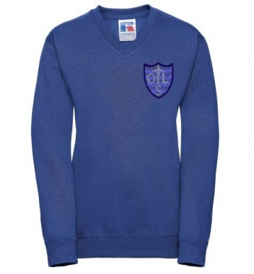 OUR LADY RC PRIMARY V-NECK SWEATSHIRT **P7**