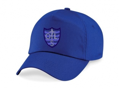 OUR LADYS RC PRIMARY BASEBALL CAP