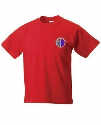 DALRY PRIMARY SCHOOL 'SCOTIA HOUSE' TSHIRT WITH NAMES PRINTED ON BACK