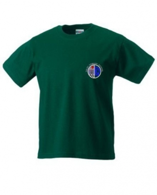 DALRY PRIMARY SCHOOL 'CALEDONIA HOUSE' TSHIRT WITH NAMES PRINTED ON BACK