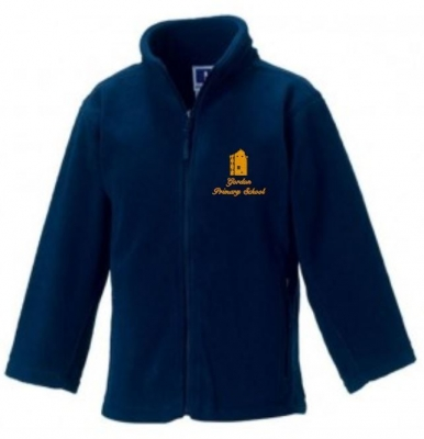 GORDON PRIMARY SCHOOL FULL ZIP FLEECE