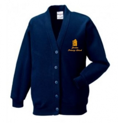 GORDON PRIMARY SCHOOL CARDIGAN