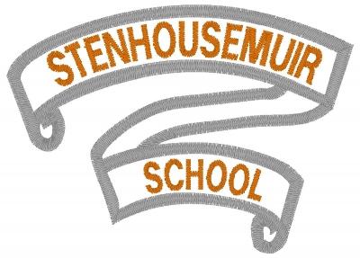 STENHOUSEMUIR PRIMARY SCHOOL BLAZER BADGE