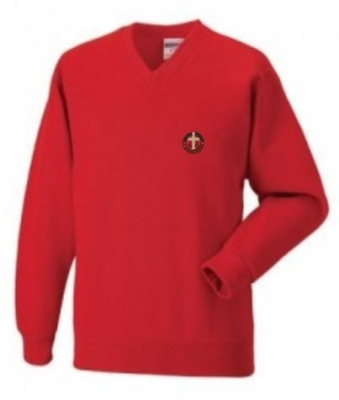 ST SAVIOURS PRIMARY SCHOOL V-NECK SWEATSHIRT
