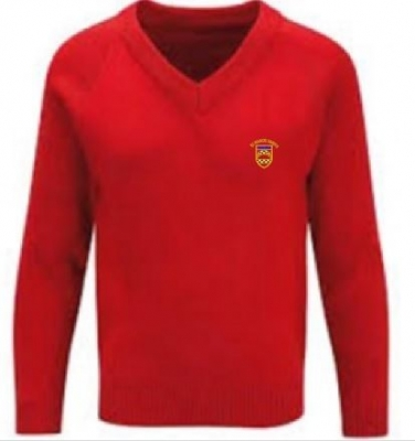 ST FRANCIS XAVIERS RC PRIMARY SCHOOL KNITTED V-NECK
