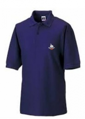 SWANSFIELD PARK RUSSELL POLOSHIRT (WITH PUPILS NAME)