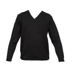 Bellahouston Academy Knitted V-neck Jumper
