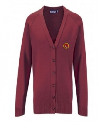 WEST LINTON PRIMARY SCHOOL KNITTED CARDIGAN