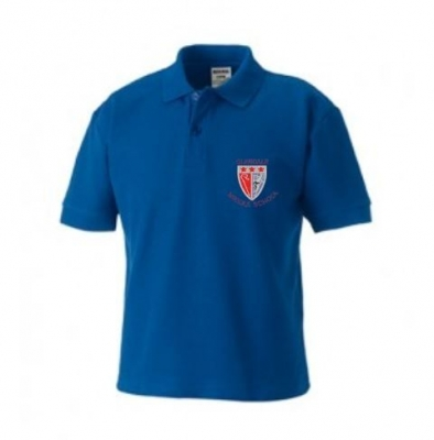 GLENDALE MIDDLE SCHOOL POLOSHIRT (WITH PUPIL'S NAME)