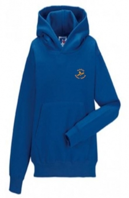 OAKFIELD JUNIOR HOODIE (WITH PUPILS NAME)