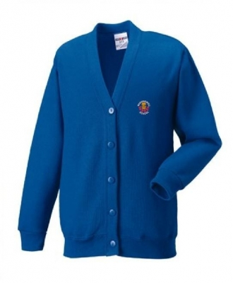 WASHINGWELL PRIMARY SCHOOL CARDIGAN WITH INDIVIDUAL NAME