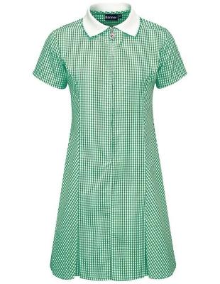 ST MATTHEW'S PRIMARY SCHOOL GINGHAM DRESS