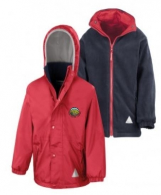 KIRKTON OF LARGO PRIMARY SCHOOL REVERSIBLE JACKET