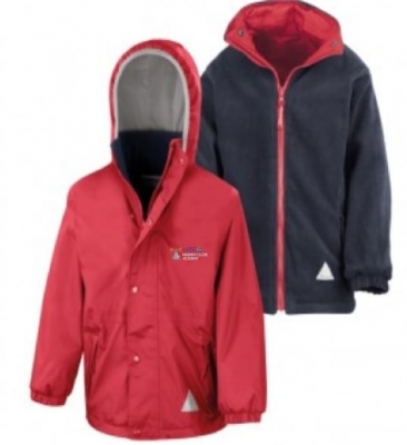 MALVINS CLOSE PRIMARY ACADEMY REVERSIBLE JACKET