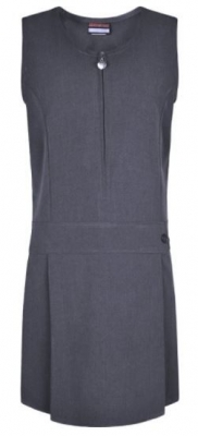 GIRLS STRETCH PINAFORE