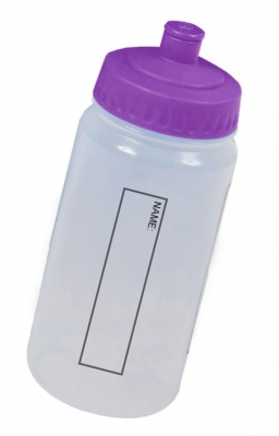 WATERBOTTLE WITH COLOURED LID