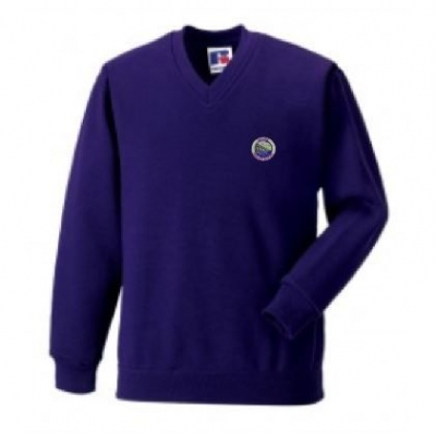 TAYVIEW PRIMARY SCHOOL V-NECK SWEATSHIRT