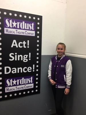 STARDUST MUSICAL THEATRE KIDS JACKET non returnable
