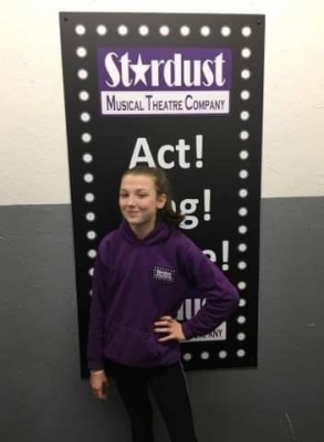 STARDUST MUSICAL THEATRE HOODIE non returnable