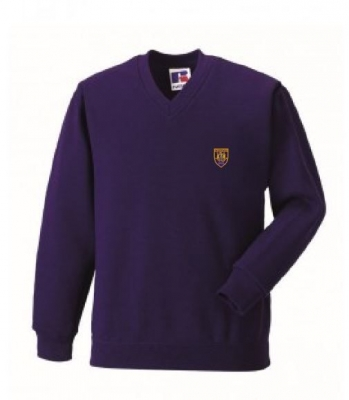 WIGTOWN PRIMARY SCHOOL V-NECK SWEATSHIRT