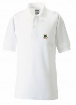 WOOLER FIRST SCHOOL POLOSHIRT (WITH PUPILS NAME)