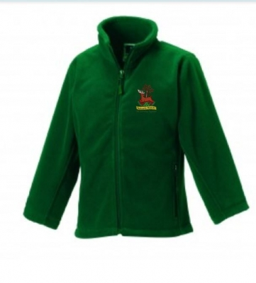 FALKLAND PRIMARY SCHOOL FLEECE WITH PUPILS NAME