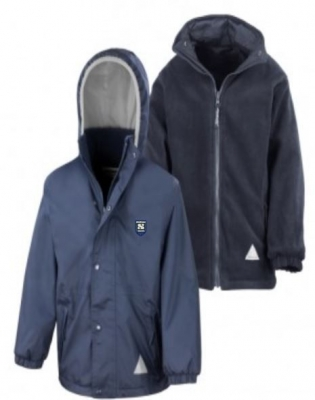 STRUTHERS PRIMARY SCHOOL REVERSIBLE JACKET