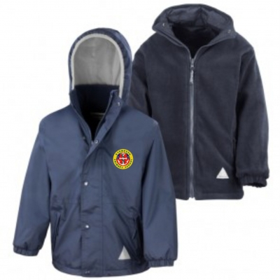Eyemouth Primary School Reversible Jacket *With Logo* *Non Returnable*