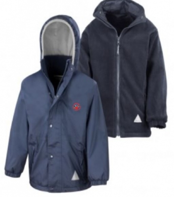 WHITDALE EARLY YEARS REVERSIBLE JACKET