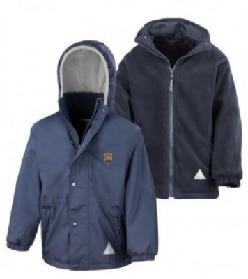 WIGTOWN PRIMARY SCHOOL HEAVYWEIGHT REVERSIBLE JACKET