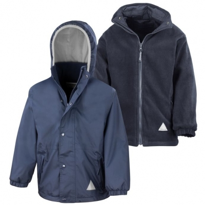 ALYTH PRIMARY SCHOOL HEAVYWEIGHT REVERSIBLE JACKET (WITHOUT LOGO)