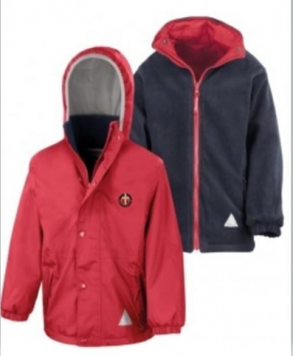 ST SAVIOURS PRIMARY SCHOOL REVERSIBLE JACKET
