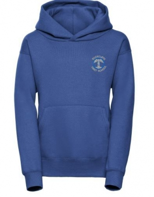 ROCKCLIFFE FIRST SCHOOL HOODIE **WITH INITIALS** (KEY STAGE 2 ONLY - OUTDOOR PE KIT)