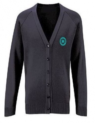 OUR LADY OF LOURDES PRIMARY SCHOOL KNITTED CARDIGAN
