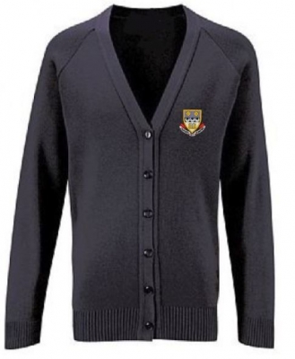 CURRIE COMMUNITY HIGH KNITTED CARDIGAN