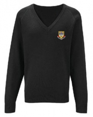 CURRIE COMMUNITY HIGH KNITTED V-NECK
