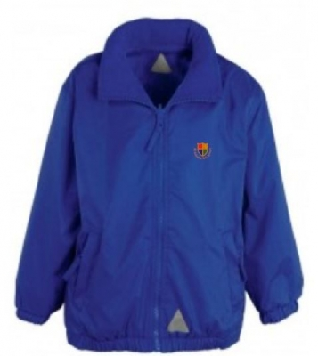 ST OSWALDS RC PRIMARY SCHOOL LIGHTWEIGHT REVERSIBLE JACKET