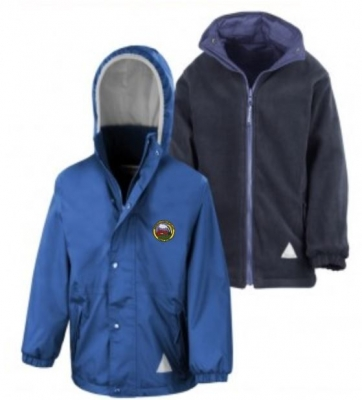 NEWBROUGH PRIMARY SCHOOL REVERSIBLE JACKET
