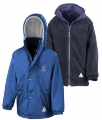 ST MONANS PRIMARY SCHOOL REVERSIBLE JACKET