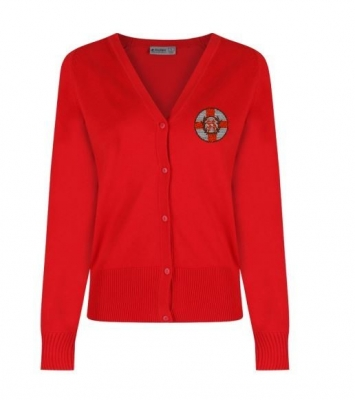 SACRED HEART GLASGOW KNITTED CARDIGAN