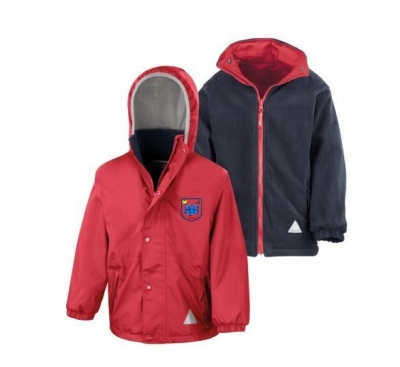 SIMPSON PRIMARY SCHOOL REVERSIBLE JACKET (WITH LOGO)