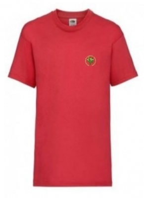 WILLOWFIELDS PRIMARY SCHOOL T-SHIRT (WITH PUPIL'S NAME)
