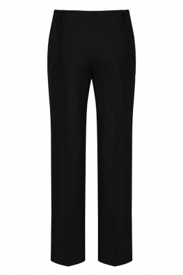 JUNIOR BOYS CLASSIC FIT TROUSER - BLACK