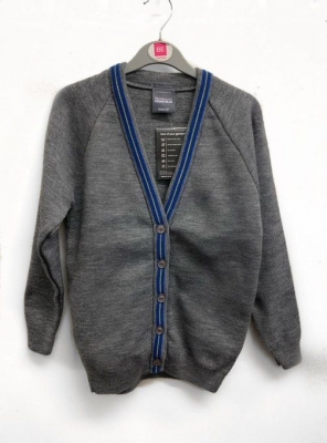 ST ANNES PRIMARY SCHOOL KNITTED CARDIGAN