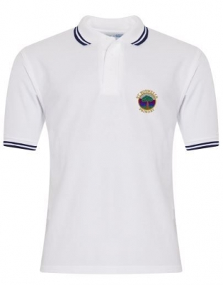 ST BOSWELLS PRIMARY TIPPED POLOSHIRT